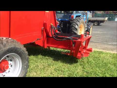 Side delivery S Series Orchard spreader