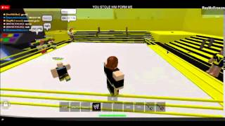 Roblox NXT Wrestling Show 1 Match 6 [NEXUS VS WWE 5v5 MAIN EVENT]