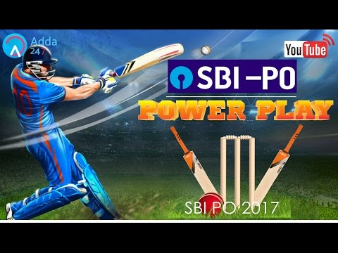 SBI PO 2017 | SBI PO Pre 2017 Power Play | Online Coaching for SBI IBPS Bank PO