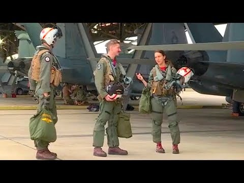USN Electronic Attack Squadron 132 RAAF Base Amberley Jul 17