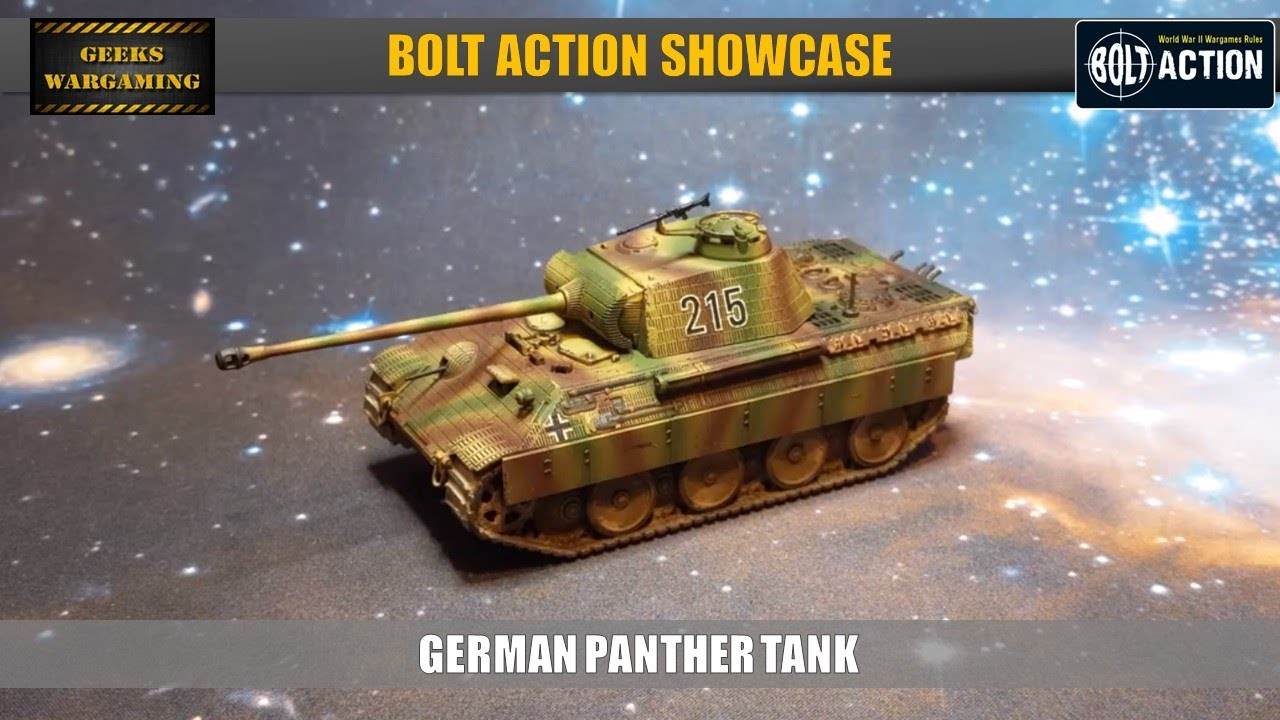 Bolt Action : Panther Ausf A Tank