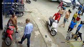 Đàn bà mà cũng bắt trộm cướp xe máy mới nhất 2018  -  Khóa chống trộm xe máy