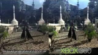 Bayonetta PS3 vs XBOX 360 comparacion!