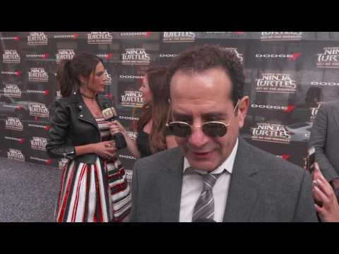 Teenage Mutant Ninja Turtles: Out of the Shadows: Tony Shalhoub Premiere Interview