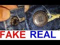 Real vs fake Hugo Boss jeans. How to spot fake Hugo Boss