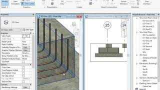 Reinforcement in Revit using Extensions