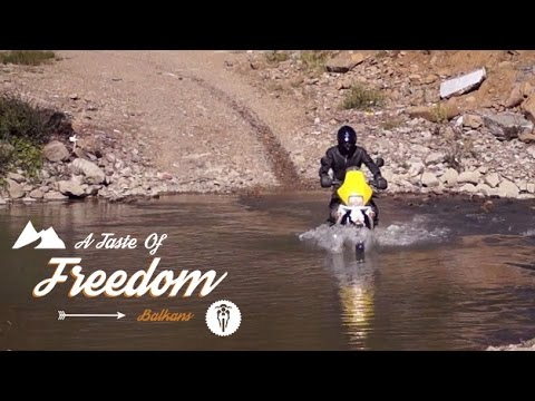 Adventure Motorcycle Trip across the Balkans to Albania || A TASTE OF FREEDOM (full length, eng sub)