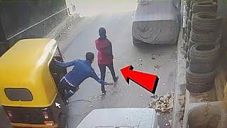 कैमरे में कैद ना होता तो शायद कोई यकीं ना करता | Smartest Thieves