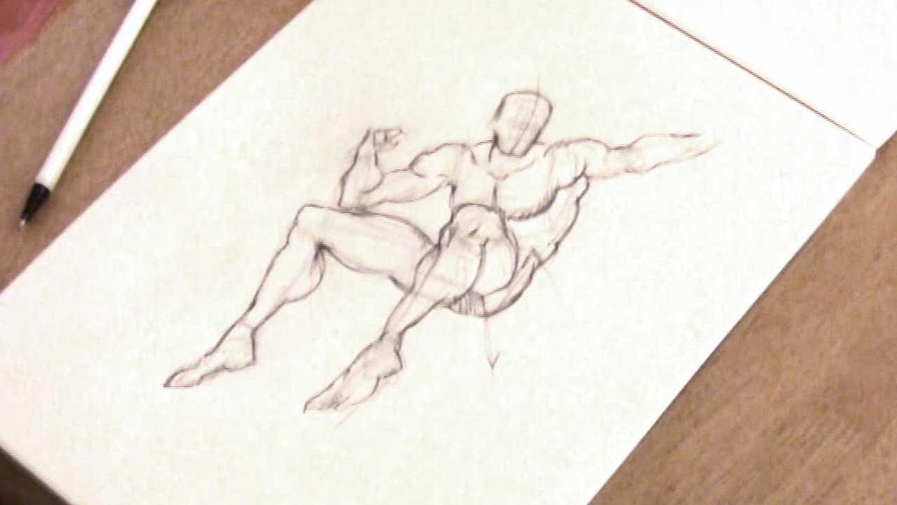 Burne Hogarth drawing - YouTube