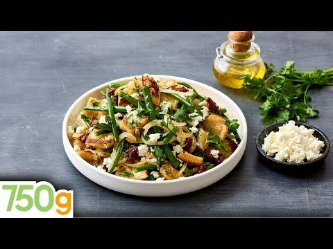 recette-de-salade-de-haricots-verts-&-feta---750g