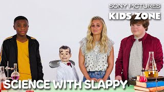 GOOSEBUMPS 2: Science with Slappy | Sony Pictures Kids Zone #WithMe Thumb