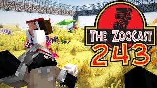 Minecraft Jurassic World (Jurassic Park) ZooCast - #243 ANOTHER JURASSIC WORLD!