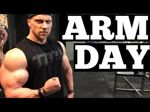 How To Get Huge Arms with Doug Miller