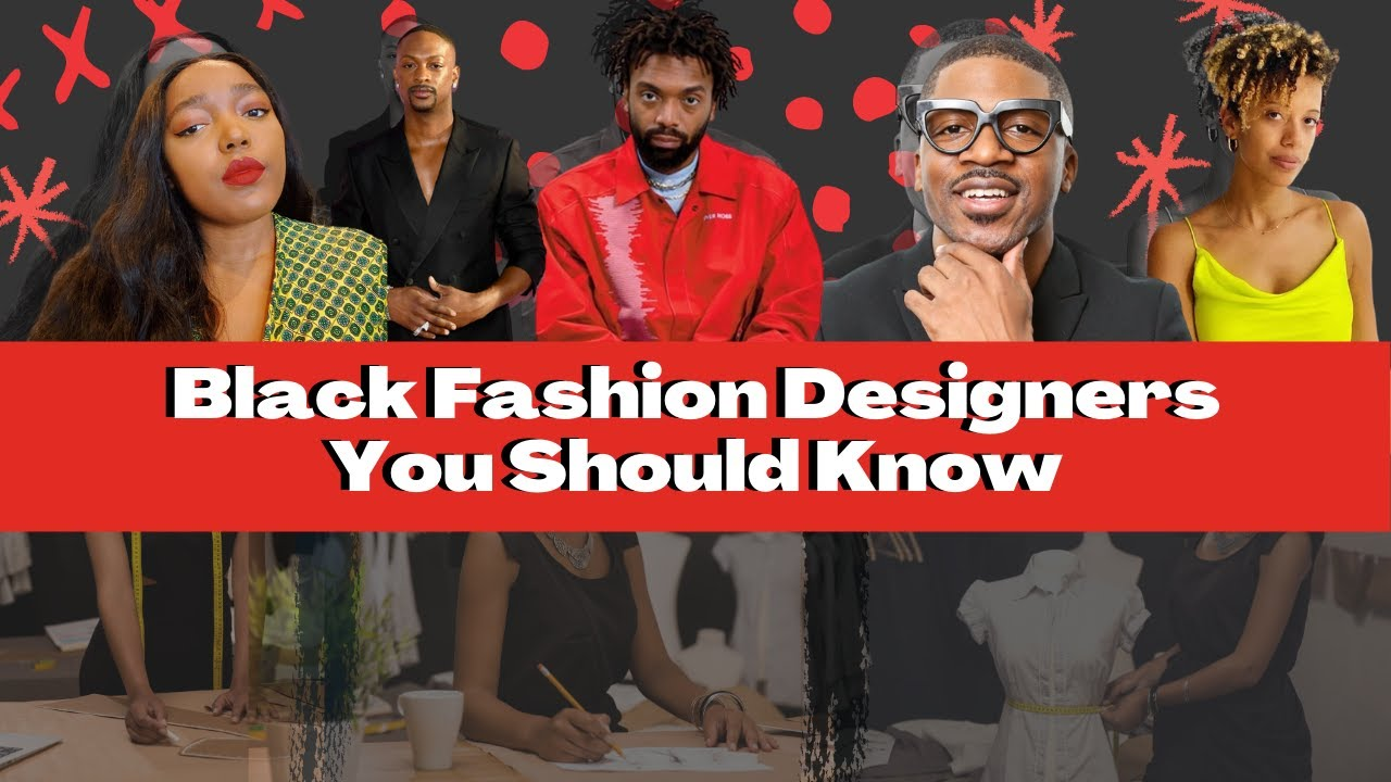 The Black Fashion Designers You Should Know In 2020 ( Pyer Moss, Hanifa , Laquan Smith & more!)
