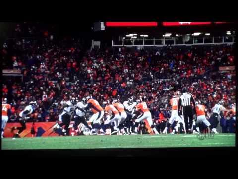 Broncos vs  Ravens 1 12 13