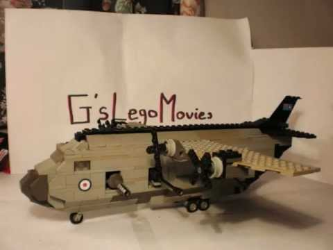 Lego Minifig scale C-130 | Flickr