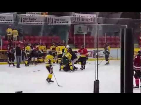 Midget hockey fight images 330