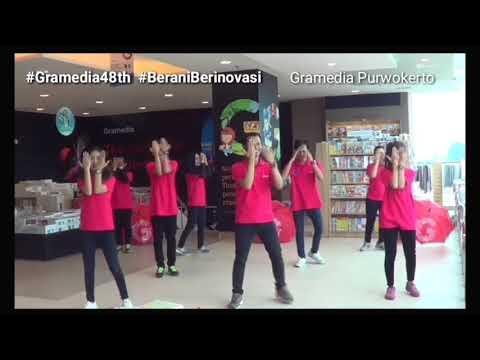 Flashmob Gramedia Purwokerto - Anniversary 48th Gramedia