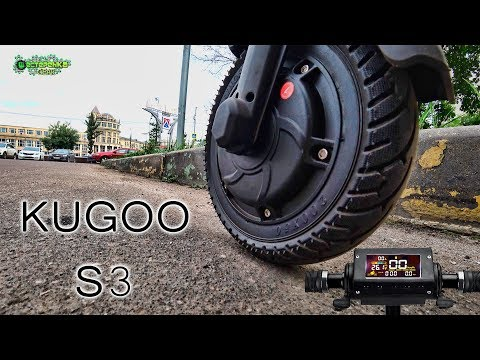 Электросамокат kugoo видео обзор