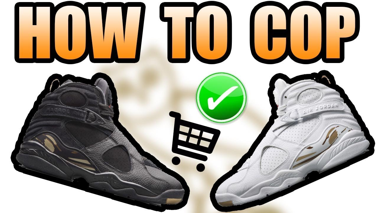 How To Get The JORDAN 8 OVO WHITE   BLACK ! JORDAN OVO 8 Release Info ! 6f440b3a2