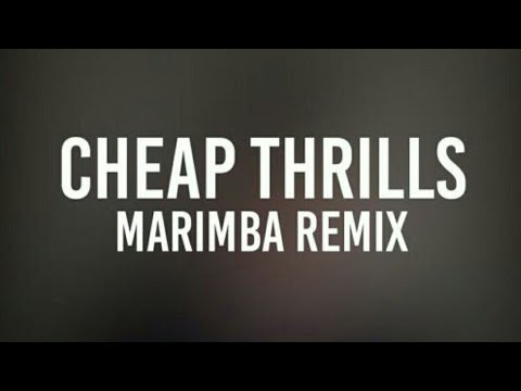 CHEAP THRILLS-MARIMBA REMIx 2018 | BEST RINGTONE 2018!!!!! | Don't miss this