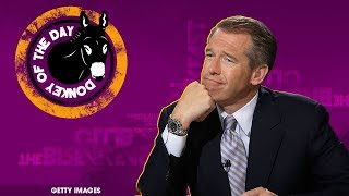 MSNBC's Brian Williams Gets DOTD For Basic Math Error Live On Air
