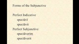 Overview of the Subjunctive Mood