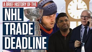 A Brief History Of The NHL Trade Deadline