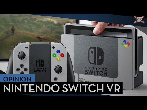 Nintendo Switch VR – Realidad Virtual, Táctil y otras Patentes.