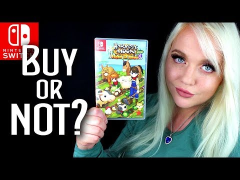 The WORST Harvest Moon Game EVER!  Harvest Moon: Light of Hope Review (Nintendo Switch)