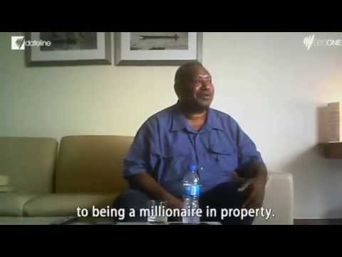 Dirty Money  How corrupt PNG cash is reaching Australia   Current Affairs   Dateline   SBS