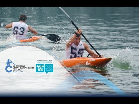 2018 Youth Olympic Games Qualification Barcelona / Slalom – C1m, K1w Heats