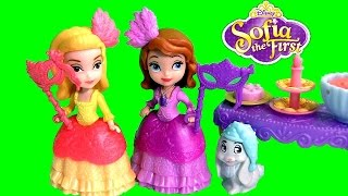 Sofia the First Masquerade Dress Up Party with Princess Amber in Sofia