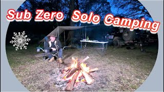 Solo Camping - 3 Dąy Trip At High Elevation