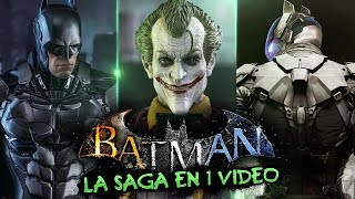 Batman Arkham I La Saga en 1 Video