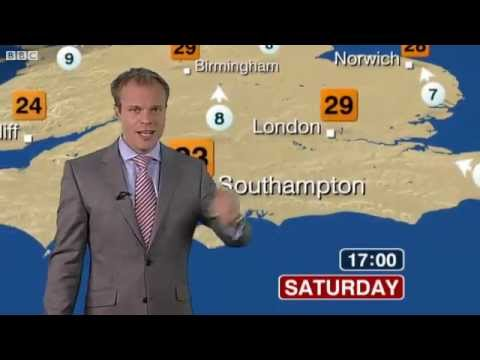 BBC Weather: Latest UK Weather Forecast - Saturday 1 October 2011 - Posted at 13:00 - Hot and Sunny