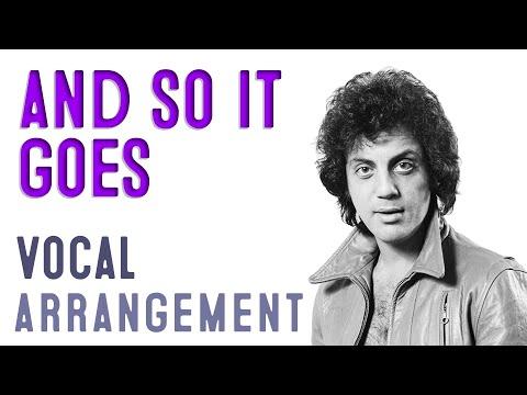 And So It Goes - Billy Joel - Arrangement by Carlos Eduardo da Costa - A cappella Choir