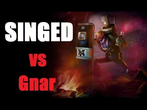 Singed vs Gnar - It's all Muscle Memory