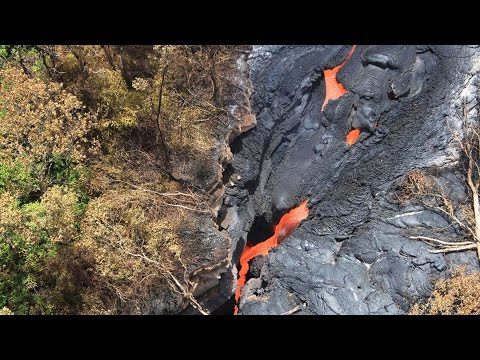 Emergency evacuations: Lava flowing from volcanoes; Super typhoon in Taiwan - Compilation