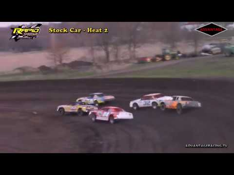 Stock Car Heats - Rapid Speedway - 5/4/18