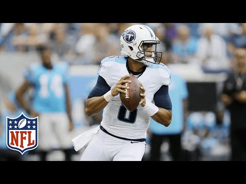 Every Marcus Mariota Throw from Week 2 | 2016 NFL Preseason Highlights