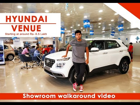 Hyundai Venue Walkaround Showroom in Bangalore   Funny Compilation