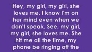 Mindless Behavior : My Girl  With Lyrics