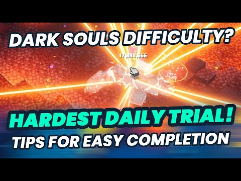 Minecraft Dungeons HARDEST DAILY TRIAL YET - TIPS For Completion & What Gear To Use