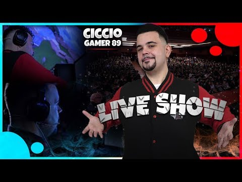 CiccioGamer89 Live Show, un Gamer a Teatro