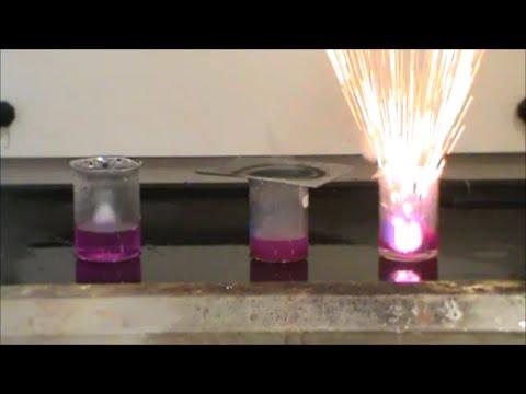 Alkali Metals Reacting with Water