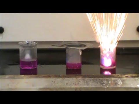 Alkali Metals Reacting with Water