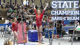 Whitney Bjerken | State Meet Level 10 Gymnastics