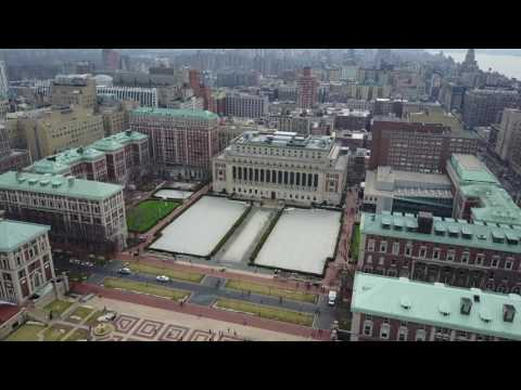 Columbia University Fly By | 4K