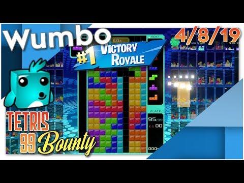 Tetris 99 Battle Royale - Win Streaks - 1365+ Total Wins